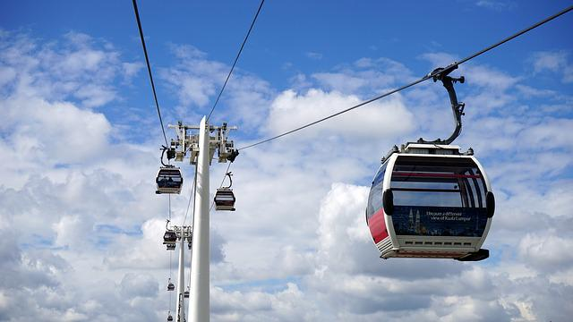 Cable Car, Sky, Cable, Car, Transportation, Travel