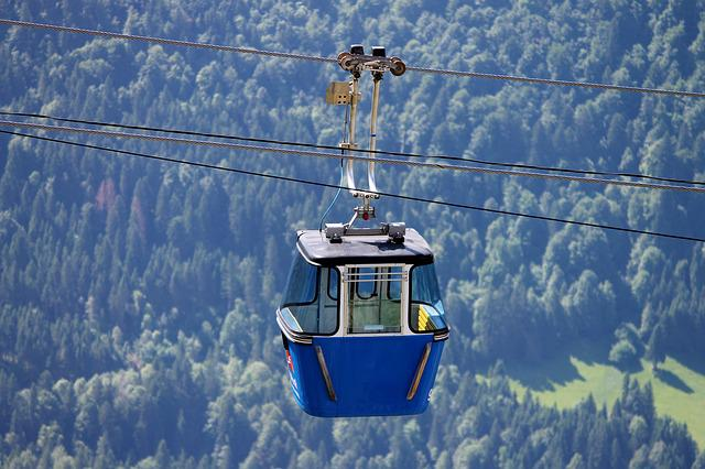 Cable Car, Gondola, Shuttle Service, Alpine