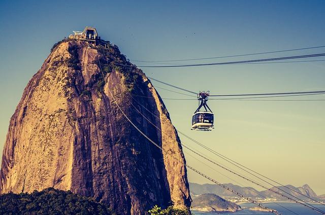 Sugarloaf Mountain, Rio De Janeiro, Brazil, Cable Car