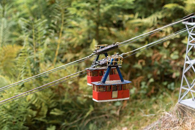 Cable Car, Ropes, Gondola, Transport, Cabin, Wire Rope