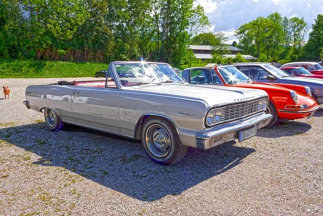 Chevrolet, Chevelle, Cabriolet, Auto, Chevy, Classic