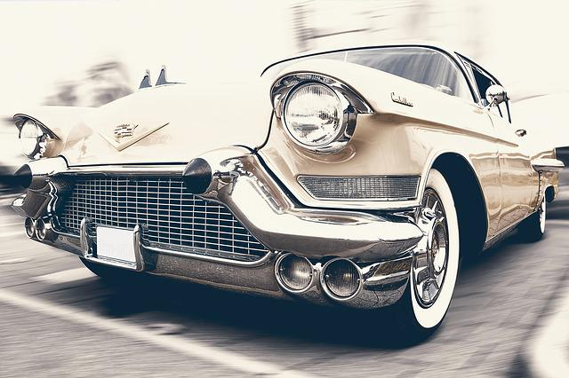 Auto, Car, Cadillac, Oldtimer, Automotive, Vehicle