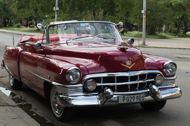Cuba, Havana, Car, Vehicle, Classic, Cadillac