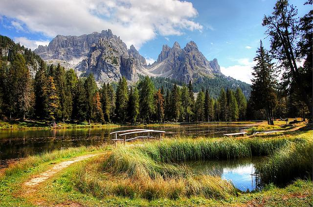 Cadini, Dolomites, Mountains, South Tyrol, Landscape