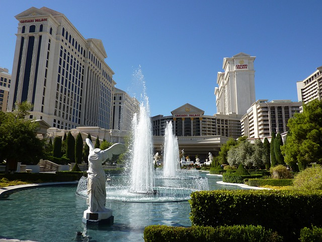 Las Vegas, Caesars Palace, Fountain, Fountains