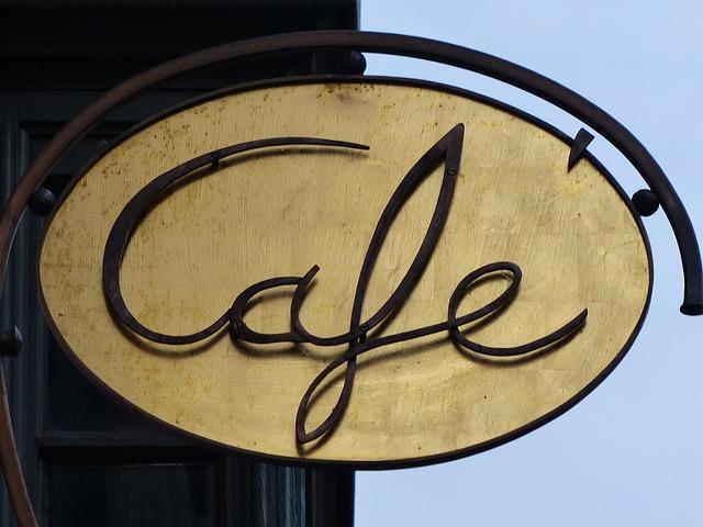 Shield, Bar, Coffee, Cafe, Board, Advertising Sign, Pub