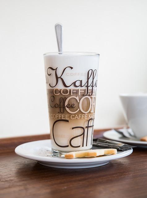 Coffee, Cafe, Glass, Milk Cafe, Froth, Caffeine