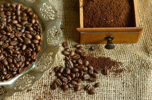 Coffee Beans, Coffee, Beans, Caffeine, Ground