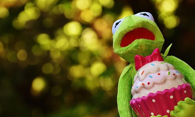 Kermit, Frog, Cupcake, Funny, Animal, Cake