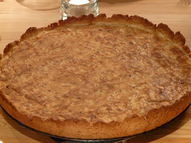 Zwiebelkuchen, Backmasse, Cake