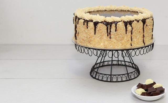 Cake, Chocolate, Cake Stand, Chocolate Cake, Dessert