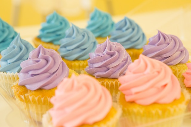 Cupcakes, Muffins, Dessert, Food, Cake, Sweet, Frosting