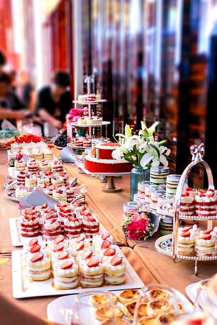 Macaron, Cake, Dessert Station, Dessert
