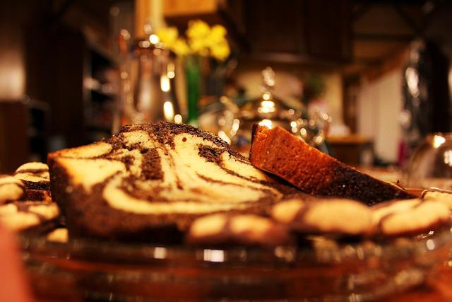 Cake, Platter, Tea Time