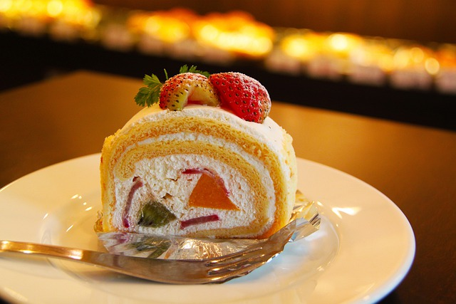Cake, Cream, Strawberry, Dessert, Strawberry Cake