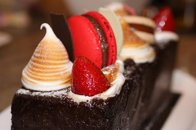 Cake, Strawberry, Strawberries, Food, Sweet, Cooking
