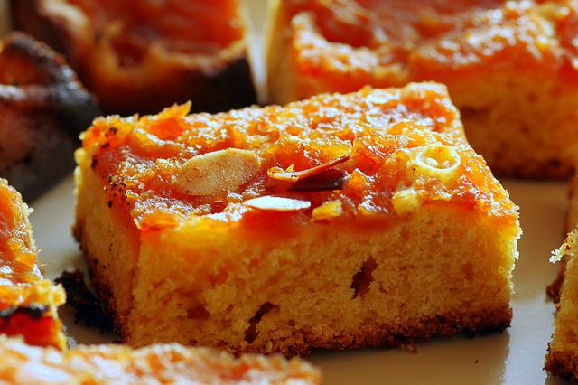 Cake, Cider, Almonds, Pumpkin, Cakes, Sweet Dish
