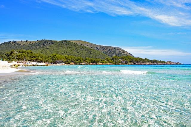 Cala Agulla, Mallorca, Balearic Islands, Spain, Sea