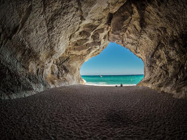 Italy, Cala Gonone, Air, Sky, Clouds, Partly Cloudy