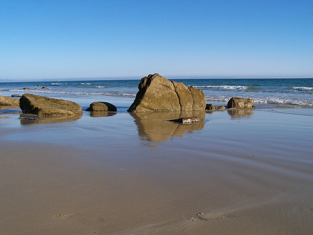 Beach, Costa, Sea, Horizon, Landscape, Tide, Cala
