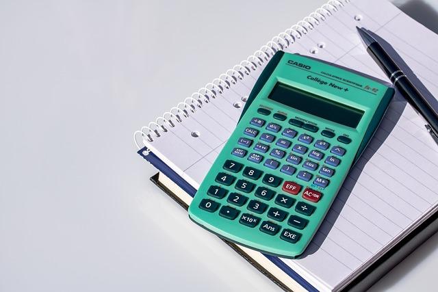 Calculator, Calculation, Notepad, Pen, Notes