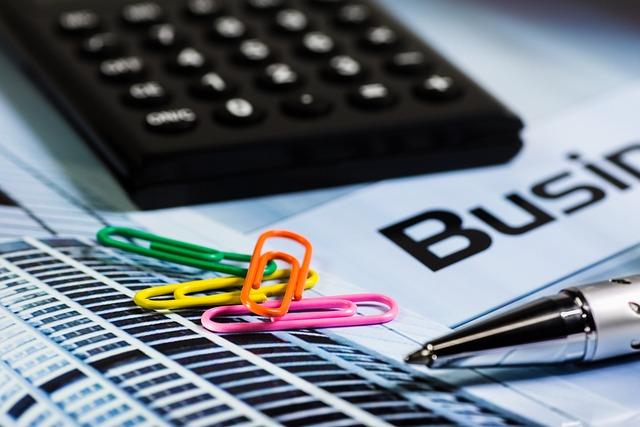 Calculator, Paperclip, Pen, Office, Radhakrishnan