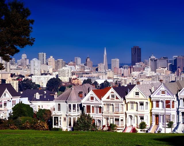 San Francisco, California, City, Urban, Buildings