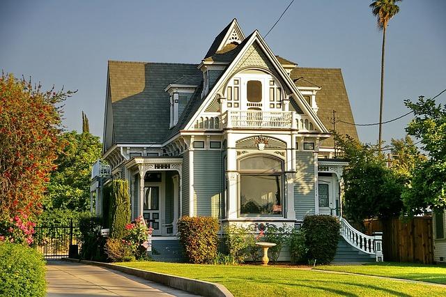 Victorian Style, Redlands, Historic, California, House