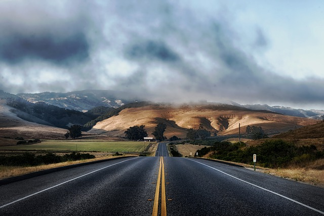 California, Road, Highway, Mountains, Landscape, Scenic