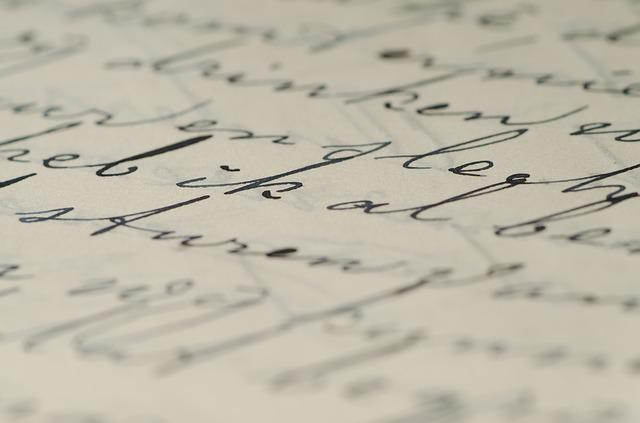 Letter, Handwriting, Written, Ink, Write, Caligraphy