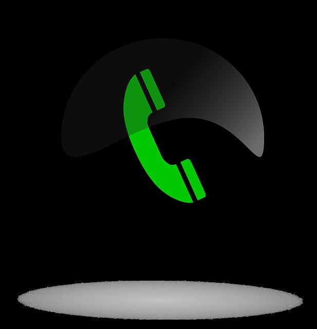 Call, Call Button Black And Green, Button, Web