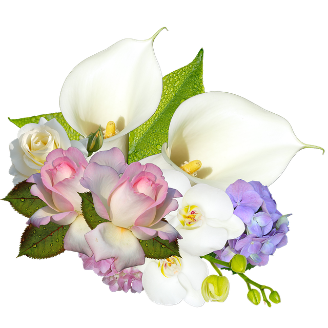 Cluster, Scrapbooking, Wedding, Flowers, Romance, Calla