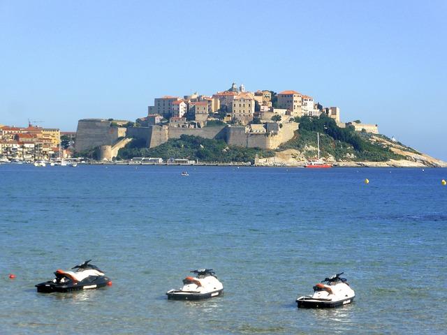 Calvi, Coast, Bay, Coastal, Corsica, Mediterranean