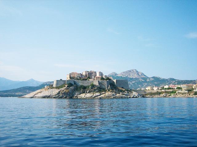 Calvi, Citadel, Corsican, Sea