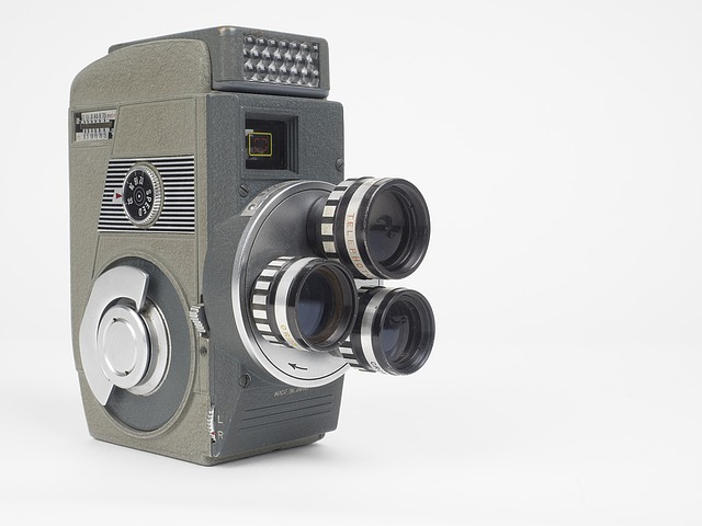 Cinema, Camera, Film Camera, Film, Vintage, Motion