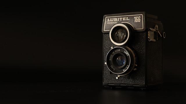 Camera, Amateur, Black, Retro, Old, Hobby, Photo Camera