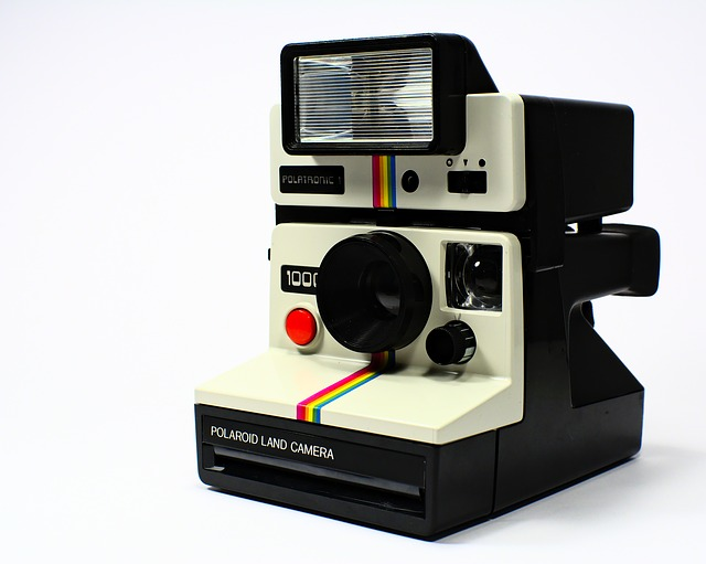 Polaroid, Camera, Polaroid Land, Polatronic, Vintage