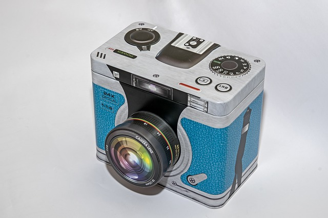 Free photo Camera Technology Equipment Tin Can Storage ...