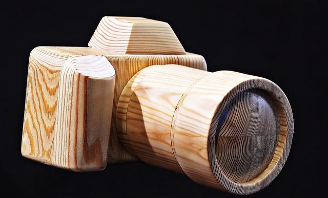 Camera, Wood Camera, Wood