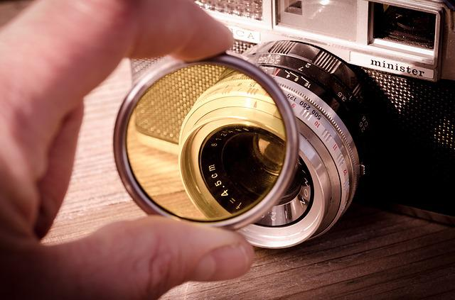 Yashica, Filter, Camera, Vintage, Photography, Classic
