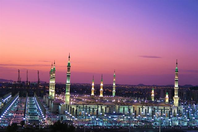 Masjid Nabi, Medina, Cami, Ravza, Travel, Architecture