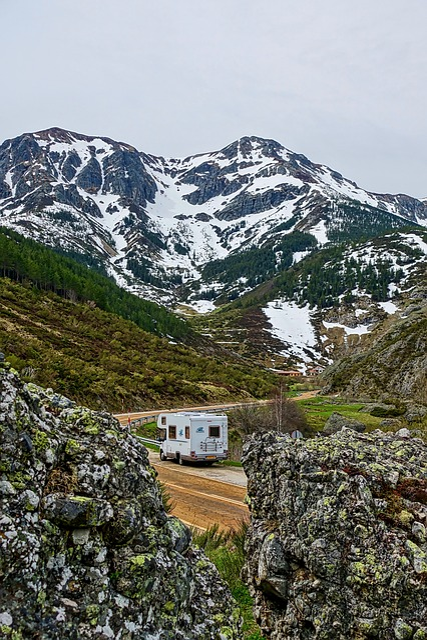 Camper, Mountains, Van, Rv, Travel, Adventure, Camping