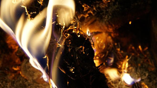 Fire, Embers, Burn, Wood, Flame, Heat, Campfire