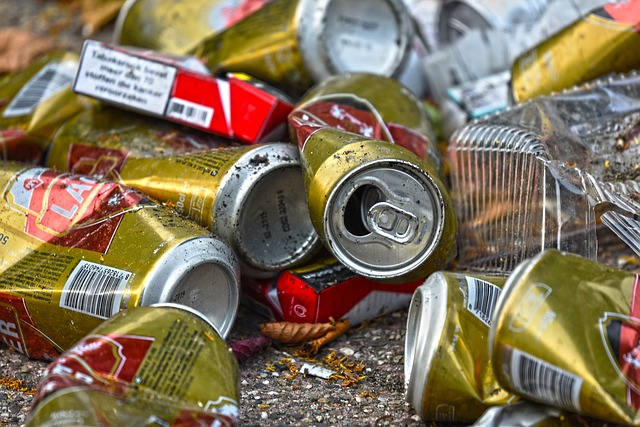 Can, Tin, Empty Cans, Cigarette Box, Pile, Trash