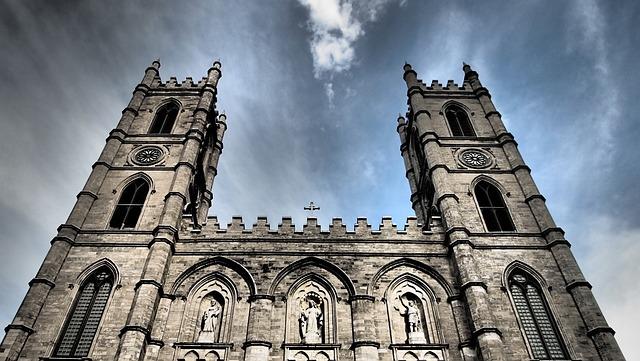 Montreal, Canada, City, Architecture, Attraction