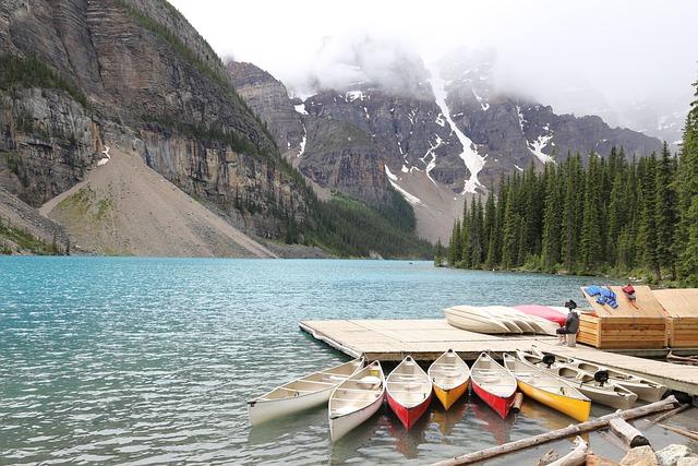 Moraine Lake, Banff, Canada, Alberta, Lake