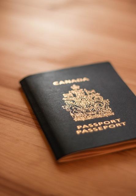 Passport, Canada, Document, Identification, Canadian