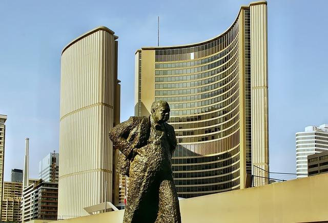 Canada, Toronto, Winston, Churchill Architecture