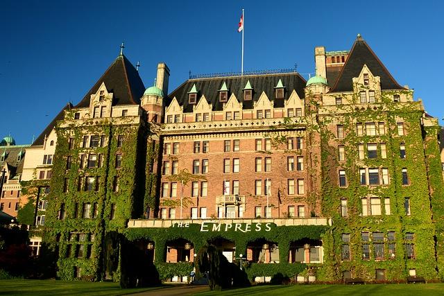 Empress Hotel, Victoria Bc, British, Columbia, Canada
