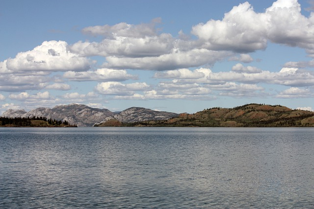 Lake Laberge, Yukon, Whitehorse, Lake, Canada